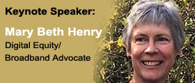 Mary Beth Henry, Digital Equity/Broadband Advocate, 2018 Oregon Connections Keynote Speaker